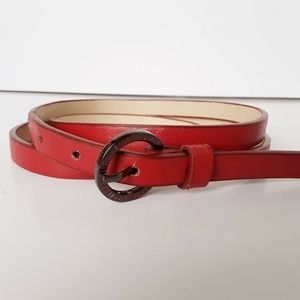 Kenneth Cole Reaction Belt Size XL Extra Large Red